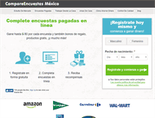 Tablet Preview of compareencuestasonline.com.mx